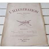 L'illustration N�3729 Du 15/8/1914- La D�fense De Li�ge- Le Syst�me Des Forts De La Meuse- La Trou�e De Belfort Et Les Vosges- Affiches De Mobilisation- Planches De Silhouettes D'uniformes- Etc...