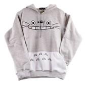Sweat Mixte Top Totoro - Manga Anime Japonais - Deguisement Cosplay - Ado Adulte Enfant - Cadeaux - A Offrir - Exterieur Interieur - Confortable - Tres Bonne Qualite - Expedie De Paris.