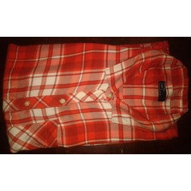 Chemise Gap Viscose Taille Xl Rouge �cossaise