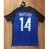 Maillot Player - Neuf - France 2016 - Matuidi #14 - Taille M