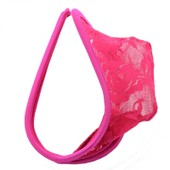 Homme Sexy C Forme Dentelle See-Through G-String Thongs Sous-V�tements