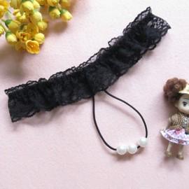 Sexy G-String Ouvert Entrejambe Slips D�cor Perles Culottes �rotique Pour Femmes 5 Couleurs Au Choix