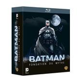 Batman Fondation Du Mythe : The Dark Knight 1 & 2 + Year One + The Killing Joke - Pack - Blu-Ray de Oliva Jay