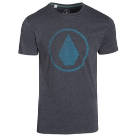 Volcom Solid Stone Hth Ss Nvy