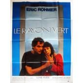 Le Rayon Vert - V�ritable Affiche De Cin�ma Pli�e - Format 120x160 Cm - De Eric Rohmer Avec Marie Rivi�re, Vincent Gauthier, Rosette, B�atrice Romand, Carita - 1983