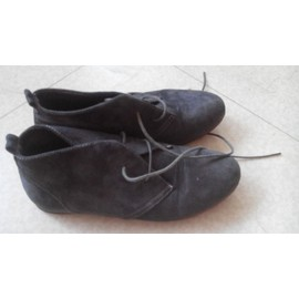 Bottines G�mo 38 Gris Fonc�