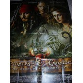 Pirate Des Cara�bes; Le Secret Du Coffre Maudit, Affiche Cin�ma 120x160