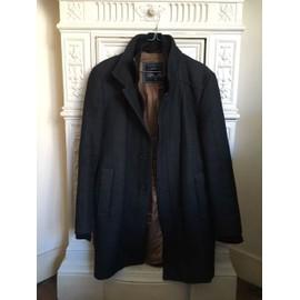 Manteau Zara Coton M Noir