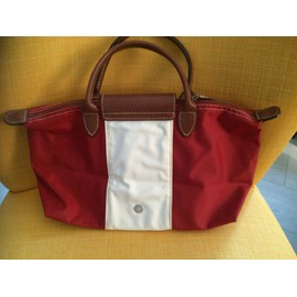 Sac � Main Longchamp Synth�tique Rouge