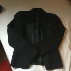 Veste Noire Tailleur Zara Woman Taille M