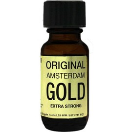 Poppers Propyle Original Amsterdam Gold 25ml Push Poppers