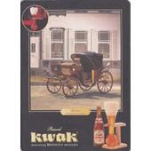 Sous Bock Pauwel Kwak Avec Verso Carte Postale