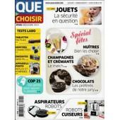 Que Choisir N� 542 - D�cembre 2015 - Huites & Champagnes / Tablettes / Cop 21 / Aspirateurs Robots