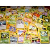 Lot De Cartes Pok�mon - Ancienne G�n�ration Deck De Base, Neo Genesis, Jungle, Fossile (Pikachu Salam�che, Bulbizarre, Etc.)