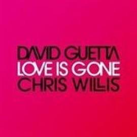 david guetta & chris willis : love is gone (cd collector - visuel rose unique)