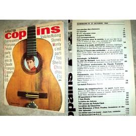 Monty R.Anthony Claude Francois Rolling Stone Trini Lopez Salut Les Copains N�27