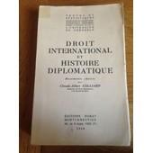 Droit International Et Histoire Diplomatique de colliard claude-albert