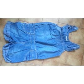 Combinaison Vynil Fraise Short Coton 8 Ans Bleu