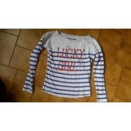 T-Shirt Vynil Fraise Coton 8 Ans Imprim�