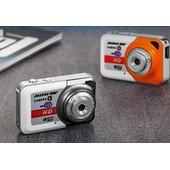 1280P Ultra portable mini-cam�ra num�rique enregistrement DV webcam u disque + 8GSD carte d'orange