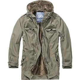 Brandit Mens Bw Parka Jacket