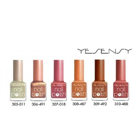 Vernis A Ongles Semi Permanent Longue Tenu Couleur Pastel Nacrer Yesensy :