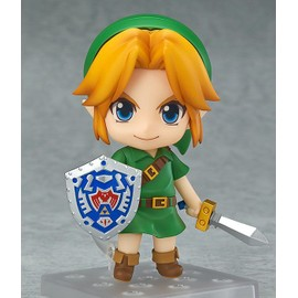 The Legend Of Zelda Majora's Mask 3d Figurine Nendoroid Link Majora's Mask 3d Ver. 10 Cm