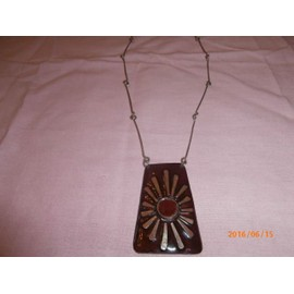 Collier �maill� Vintage