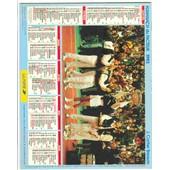 Almanach 1993 J.Cartier Bresson Tennis Coupe Davis 1991