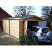 Garage En Bois 19,03 M2 Vectura 3562 Foresta