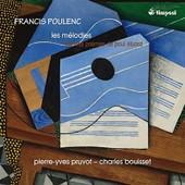 Les M�lodies Sur Des Po�mes De Paul Eluard - Francis Poulenc
