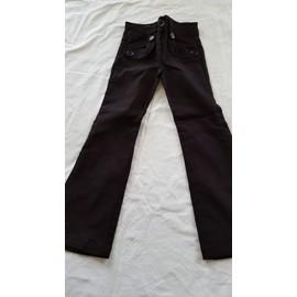 Pantalon Vynil Fraise Polyester 5 Ans Noir