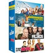 Collection Vacances En Folie : La Croisi�re + Les Randonneurs � Saint-Tropez + Les Francis + Il �tait Une Fois... Une Fois - Pack de Pascale Pouzadoux
