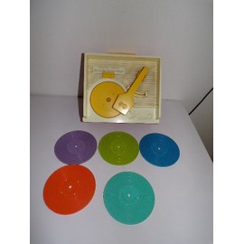 Music Box Fisher Price Vintage Avec 5 Disque