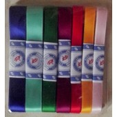 Biais Galon Ruban De Satin 7 * 1 M Couleurs Assorties Couture Mercerie Sewing L