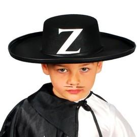 Chapeau Zorro Noir Enfant