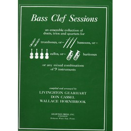 Bass Clef Sessions - 2, 3, and 4 Cellos (or other bass-clef instruments)