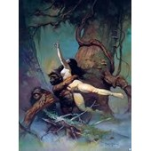 Trading Cards Frazetta 87 Captive Princess 1991