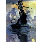 Trading Cards 1991 Frazetta 38 Atlantis