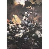Trading Cards 1991 Frazetta 44 The Destroyer