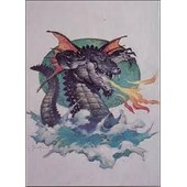 Trading Cards 1991 Frazetta 68 Flying Alligator