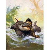 Trading Cards 1991 Frazetta 78 Monster Out Of Time