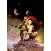 Trading Cards 1991 Frazetta 88 A Fighting Man Of Mars