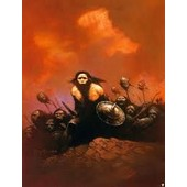 Trading Cards 1991 Frazetta 37 Bran Mak Morn