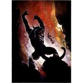 Trading Cards 1991 Frazetta 63 Fire Demon