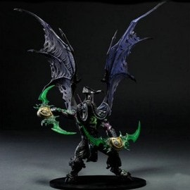 World Of Warcraft Figurine 30cm(Y Compris Les Ailes)Illidan Stormrage