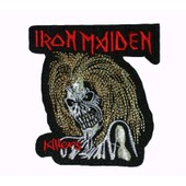 Iron Maiden Killers Patch Thermocollant 8 Cm X 7 Cm