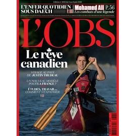 Le Nouvel Observateur 2692 : Le R�ve Canadien