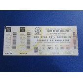Ticket Billet Football Red Star 93 / Racing Cp 28/03/2000 Stade De France Place 4