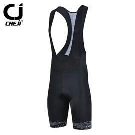 Cheji Hommes V�tements De Plein Air Bicyclette V�lo 3d Rembourr�e �quitation Bib Shorts S-3xl 3-Couleurs